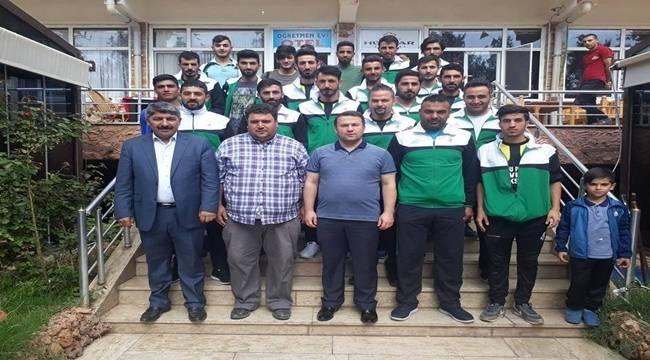 Viranşehirspor'a Belediye Başkan Vekili Çimşit Morali