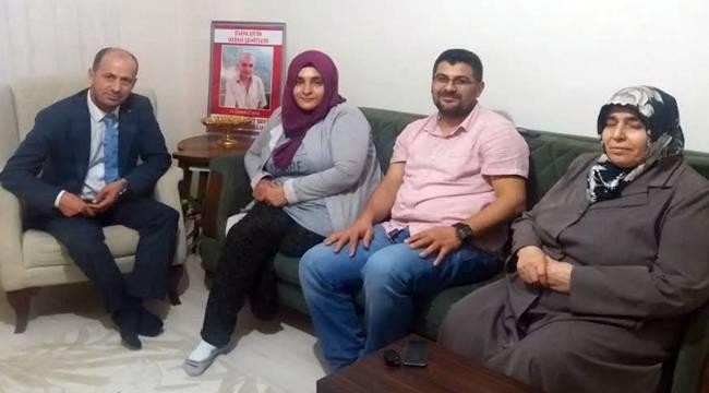 Yavuz'dan İstanbul'daki Urfalı Şehit Ailesine Ziyaret