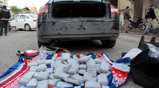 Açığa alınan polis 40 kilogram eroinle yakalandı