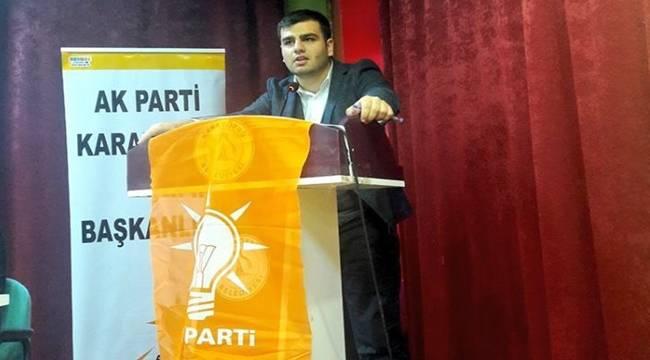 AK Parti Karaköprü Gençlik İl Başkanı Seçildi-Videolu Haber
