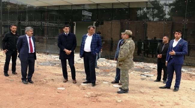 Akçakale Belediyesi Hizmet Binası Tamamlanıyor- Videolu Haber