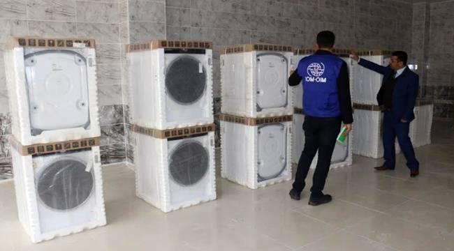 Suriyeliler için çamaşırhane kuruluyor