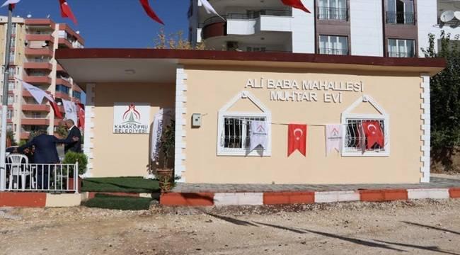 Ali Baba Mahallesi Muhtar Evine Kavuştu-Videolu Haber
