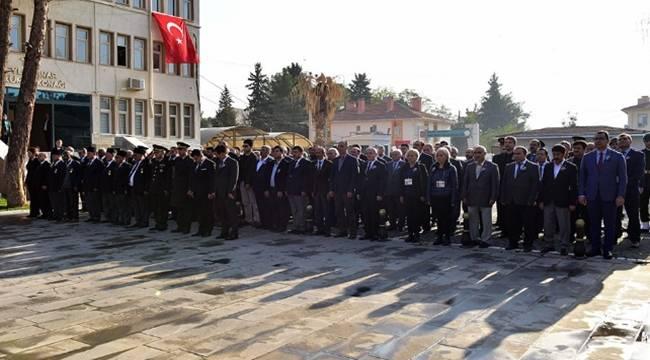 Atatürk, ölümünün 79. yıl dönümünde Ceylanpınar'da da anıldı