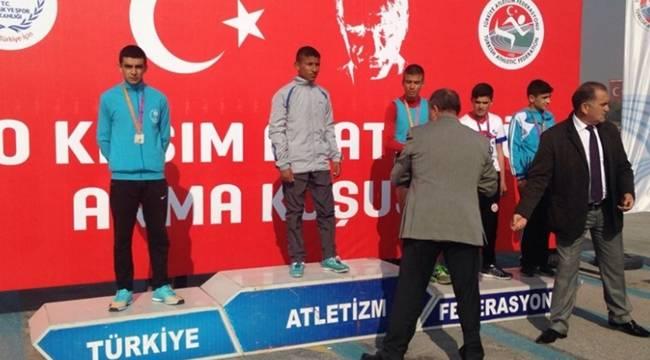 Atatürk'ü Anma Koşusunun Şampiyonu Urfalı Oldu