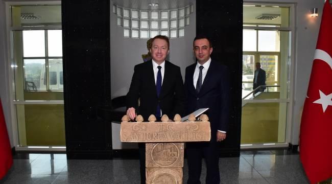 Avustralya Büyükelçisi'nden Şanlıurfa Valiliği'ne Ziyaret