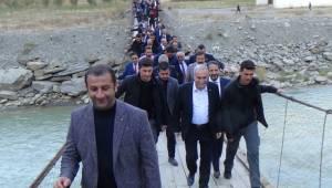 Bakan Fakıbaba, Hakkari'yi Ziyaret Etti