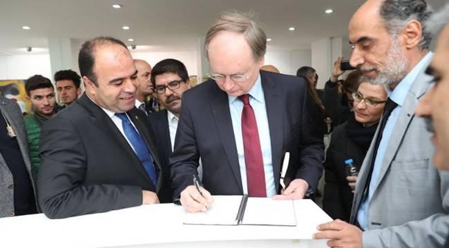 Büyükelçilerden Urfa'daki Yatırımlara Destek Sözü- Videolu Haber