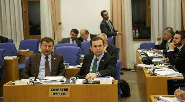 Cevheri, Gençlik ve Spor Bakanlığı bütçe komisyonunda konuştu