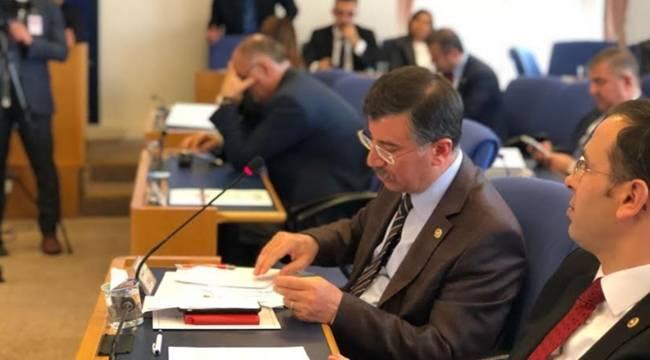 Cevheri, Sağlık Bakanlığı Bütçe Görüşmelerinde Konuştu