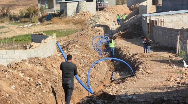 Ceylanpınar'da İçme Suyu Şebekesi Çalışması Başladı-Videolu Haber