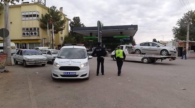 Ceylanpınar'da Polis Ceza Yağdırdı
