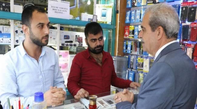 Demirkol, Kapaklı Pasaj Esnafını Ziyaret Etti- Videolu Haber