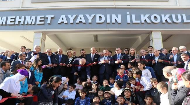 Derik'te Mehmet Ayaydın İlk ve Ortaokulu açıldı