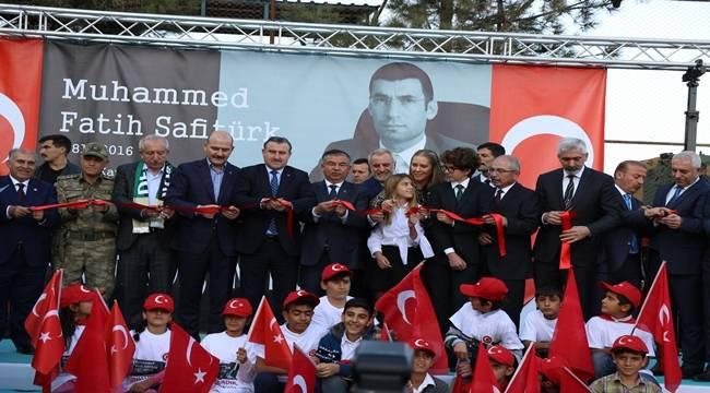 Derik'te şehit kaymakam Safitürk adına yaptırılan okul açıldı