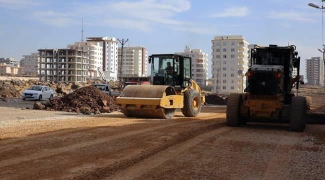 Doğukent'te Yol Seferberliği Sürüyor- Videolu Haber