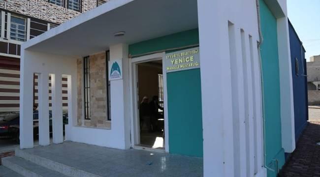 Eyyübiye'de Muhtar Evleri Bir Bir Açıyor- Videolu Haber