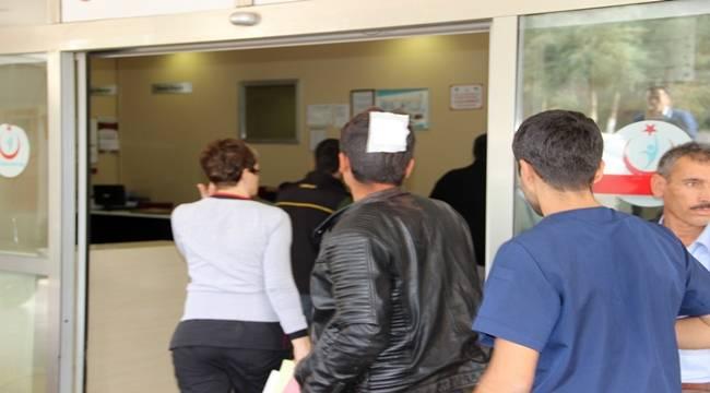 Harran'da Taşlı Sopalı Kavga, 1 Yaralı
