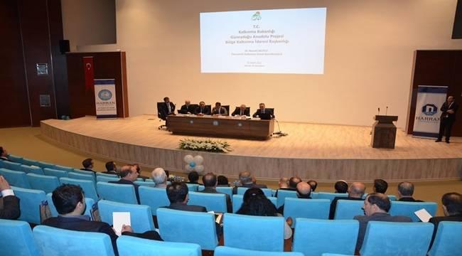 Harran Üniversitesinde Fakülteler Çalıştayı Yapıldı