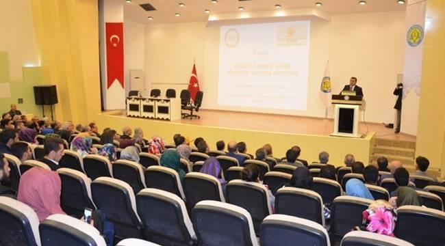 Harran Üniversitesinde Risale-i Nur Paneli