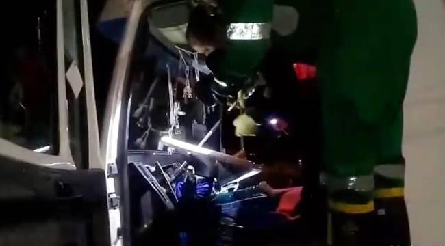 Hız göstergesine bakan sürücü hayatının şokunu yaşadı