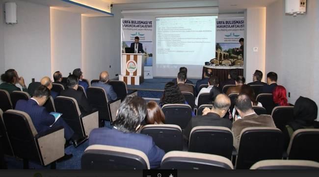 Hukukçular Çalıştayı Şanlıurfa'da Düzenlendi