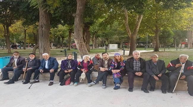 Huzurevi sakinleri Şanlıurfa ve Gaziantep gezisinde