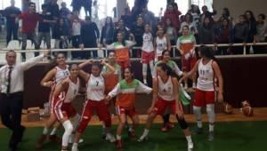 Kadınlar Basketbol'da DSİ Urfa Yenildi