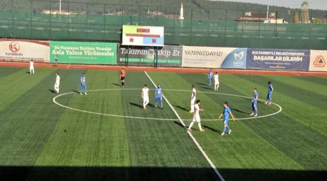 Karaköprü'nün maçında gol sesi çıkmadı