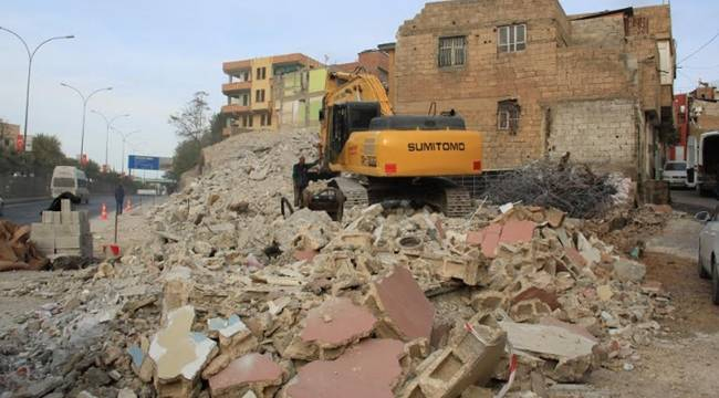 Urfa'da 85 Yapı Yıkılıyor-Videolu Haber
