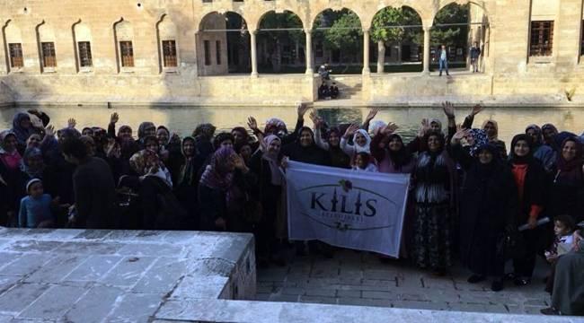 Kilis'ten Şanlıurfa turlarında katılanların sayısı 5 bine yaklaştı