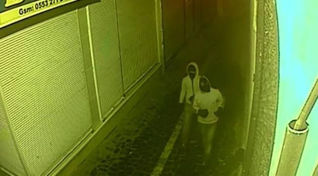 Maskeli takı ve tespih hırsızı yakalandı