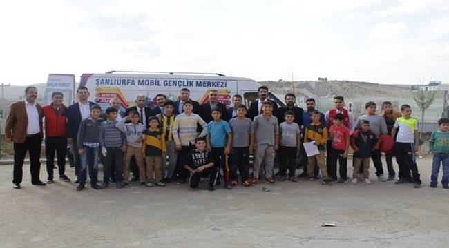 Mobil Gençlik Merkezi Urfa'da