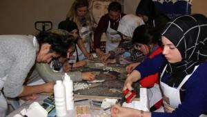 Mozaik Çalıştayı Atölye Çalışmasıyla Devam Etti- Videolu Haber