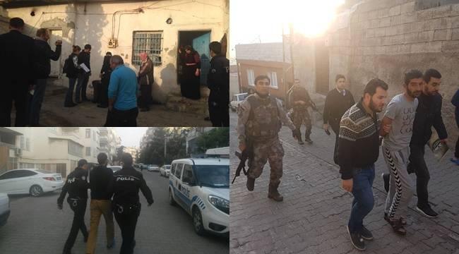 Şanlıurfa'da dev operasyon, 30 Gözaltı