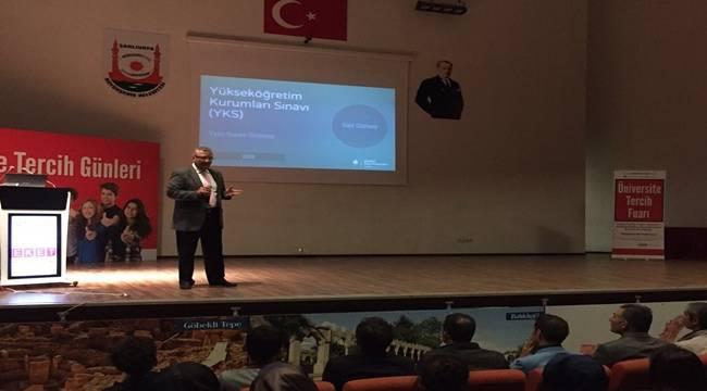 Şanlıurfa'daki Rehber Öğretmenler Yeni Sınav Sistemini anlatıldı