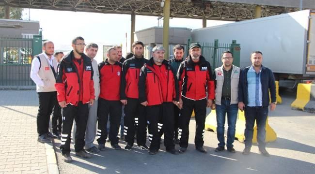 Şanlıurfa Ekipleri Irak İçin Hazır Bulunuyor