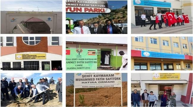 Şehit Kaymakam'ın ismi Urfa'da 3 Yerde Yaşatılıyor