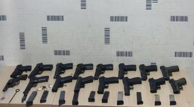Siverek'te Ruhsatsız Silahlar Yakalandı