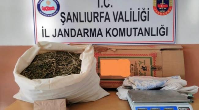 Suruç'ta 6 Kilo Kubar Esrarı Yakalandı