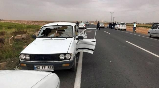 Suruç'ta Trafik Kazası, 2 Yaralı