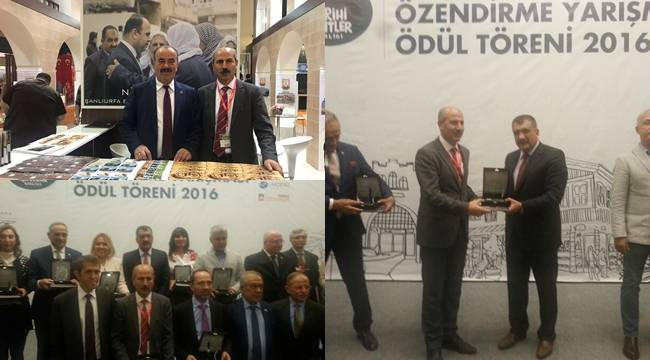 Tarihi Kentler Birliğinden Şanlıurfa Büyükşehir'e Ödül