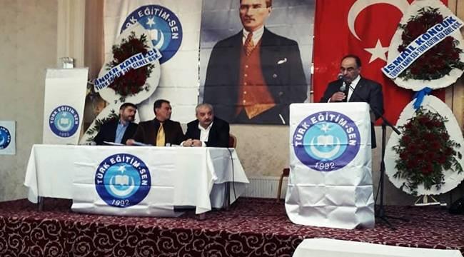 Türk Eğitim Sen Şanlıurfa'nın Kongresi Gerçekleşti