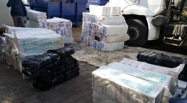 Urfa'da 31 Bin Paket Kaçak Sigara Yakalandı