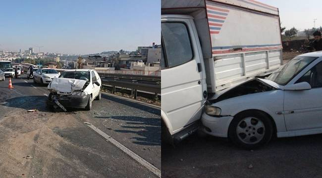 Urfa'da İki Kaza, 7 Yaralı