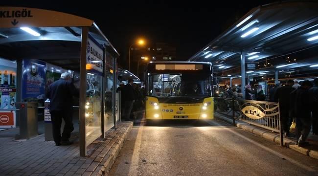 Urfa'da Otobüsler 24 Saat Çalışacak- Videolu Haber