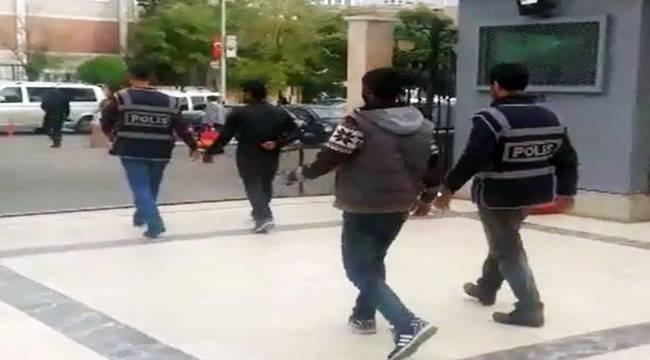Urfa'da Silahlı ve maskeli 3 hırsız tutuklandı