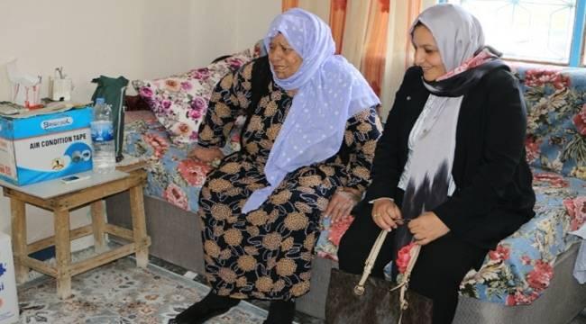 Urfa'da Yaşlı Destek Programı devam ediyor-Videolu Haber