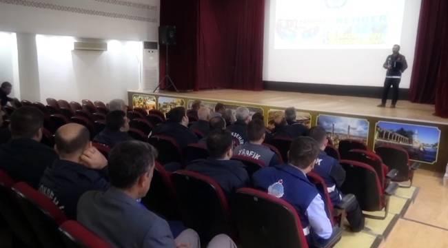 Urfa Zabıtalarına Narko Rehber Eğitimi- Videolu Haber