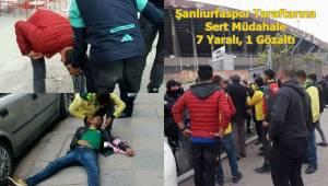 Urfaspor Taraftarına Sert Müdahale, 7 Yaralı, 1 Gözaltı- Videolu Haber
